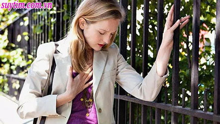 Suy tim gây khó thở, mệt mỏi đặc biệt là khi gắng sức