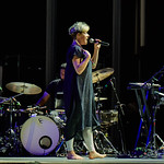 Mon, 17/09/2018 - 2:46pm - Tune-Yards (= tUnE-yArDs = Merrill Garbus) at Forest Hills Stadium in Queens, NY, 9/15/18. Photo by Gus Philippas/WFUV
