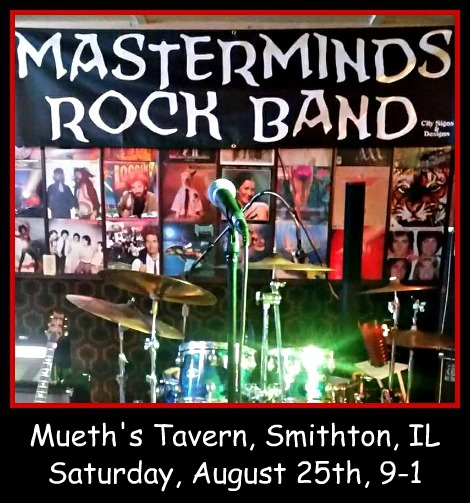 Masterminds Rock Band 8-25-18