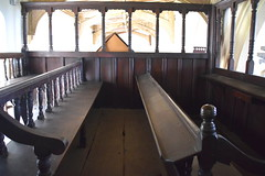 seats in the Buxton pew
