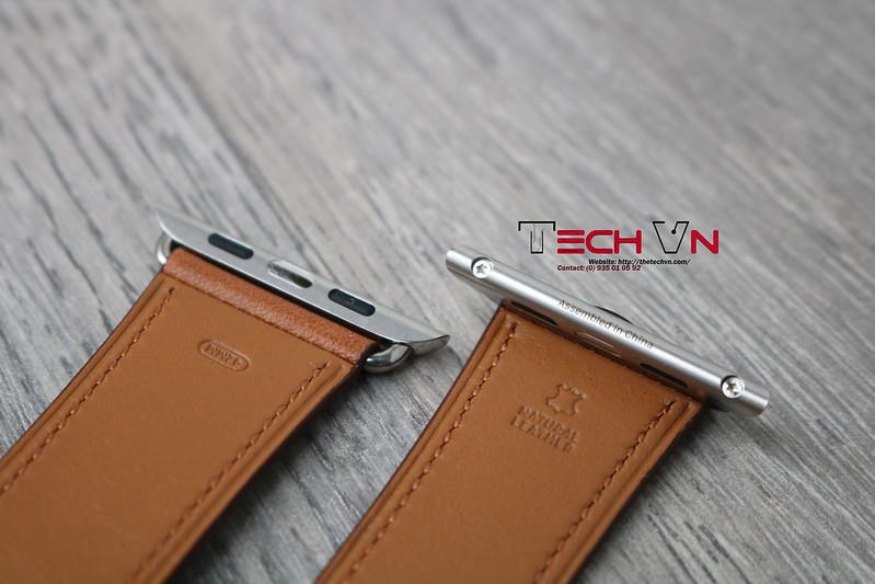 Techvn - Dây đeo apple watch Classic Buckle Brown 01
