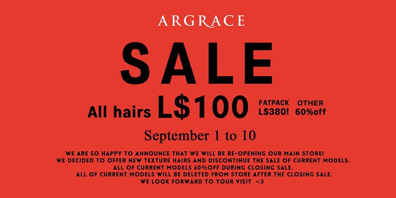 Argace Sale