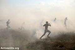 Gaza fence protest, Gaza Strip, 24.8.2018