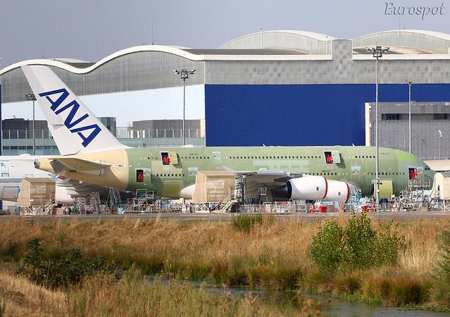 F-WWSH Airbus A380 ANA