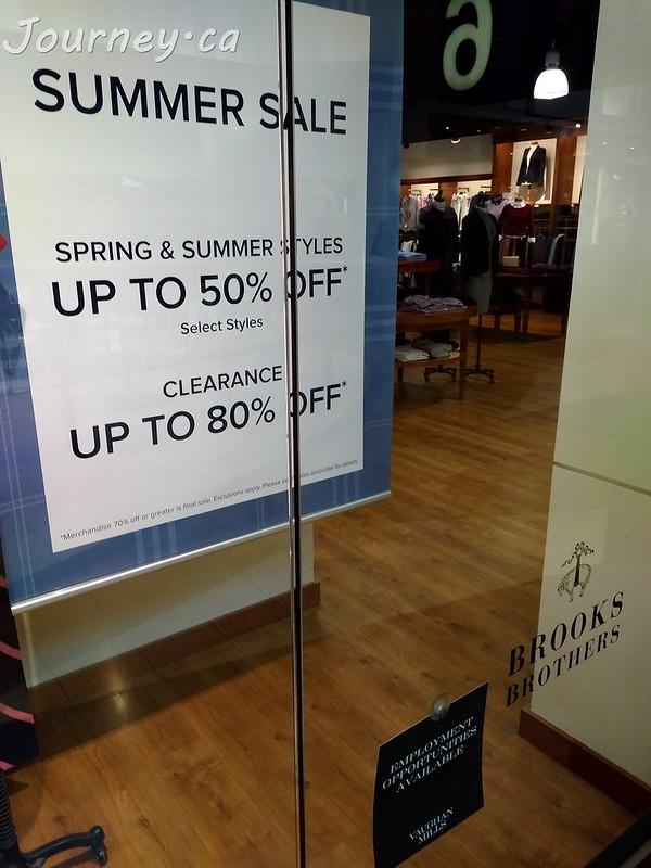 Brooks Brothers 80% OFF