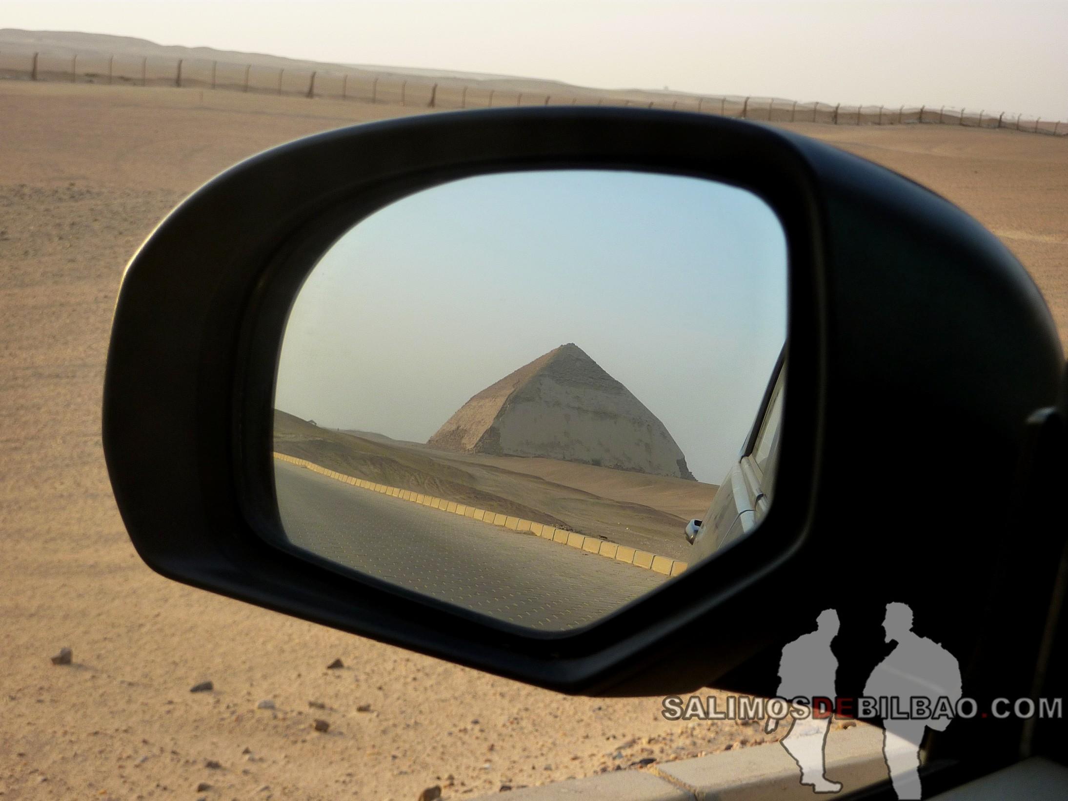 0258. Pirámide inclinada de Saqqara