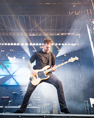 Underoath en Riot Fest Chicago 2018
