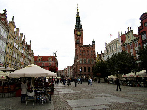 Gdansk's Main Town Hall on the Long Market