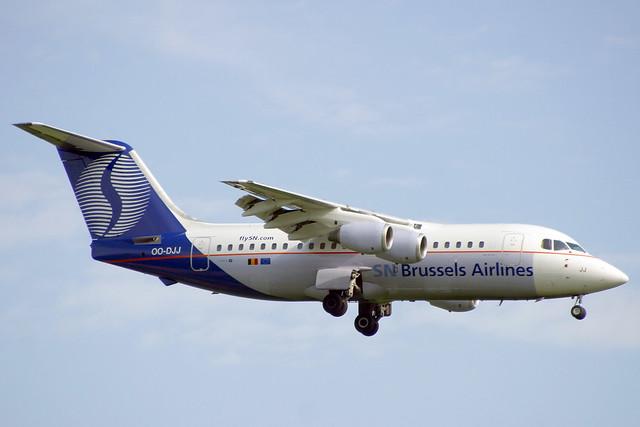OO-DJJ British Aerospace 146-200, Canon EOS D60