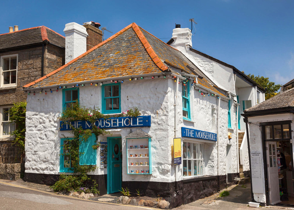 The Mousehole gift shop in Mousehole, Cornwall. Credit Otto Domes