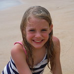 Caroline on the Beach
