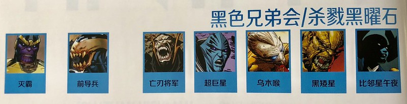 无穷 (Marvel), Black Order