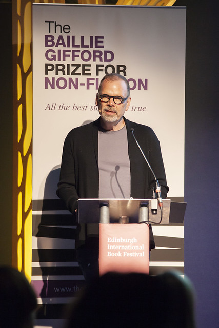 David France delivers the Baillie Gifford Prize lecture