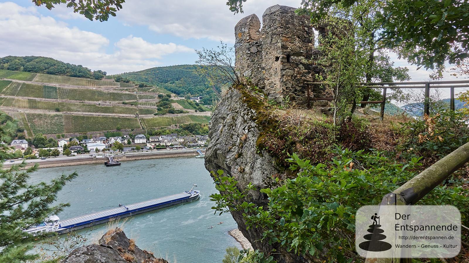 Turm gegenüber von Assmannshausen