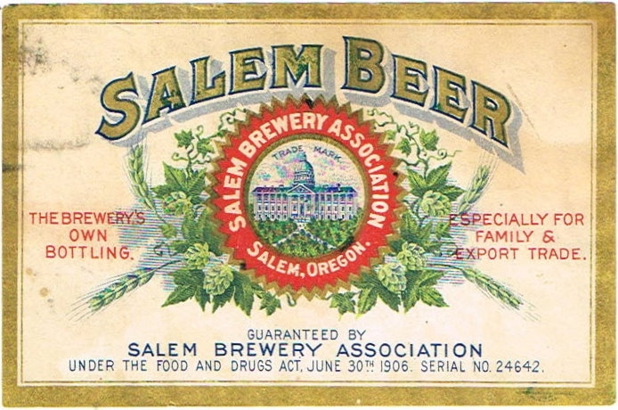 Salem-Beer-Labels-Salem-Brewery-Association-1906