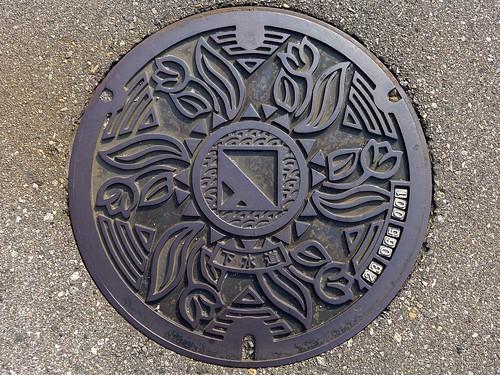 Nyuzen Toyama, manhole cover 2 (富山県入善町のマンホール2)