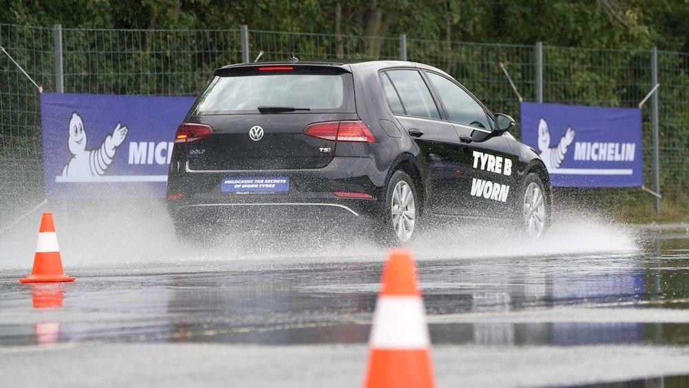 Michelin тестирање истрошени гуми 3
