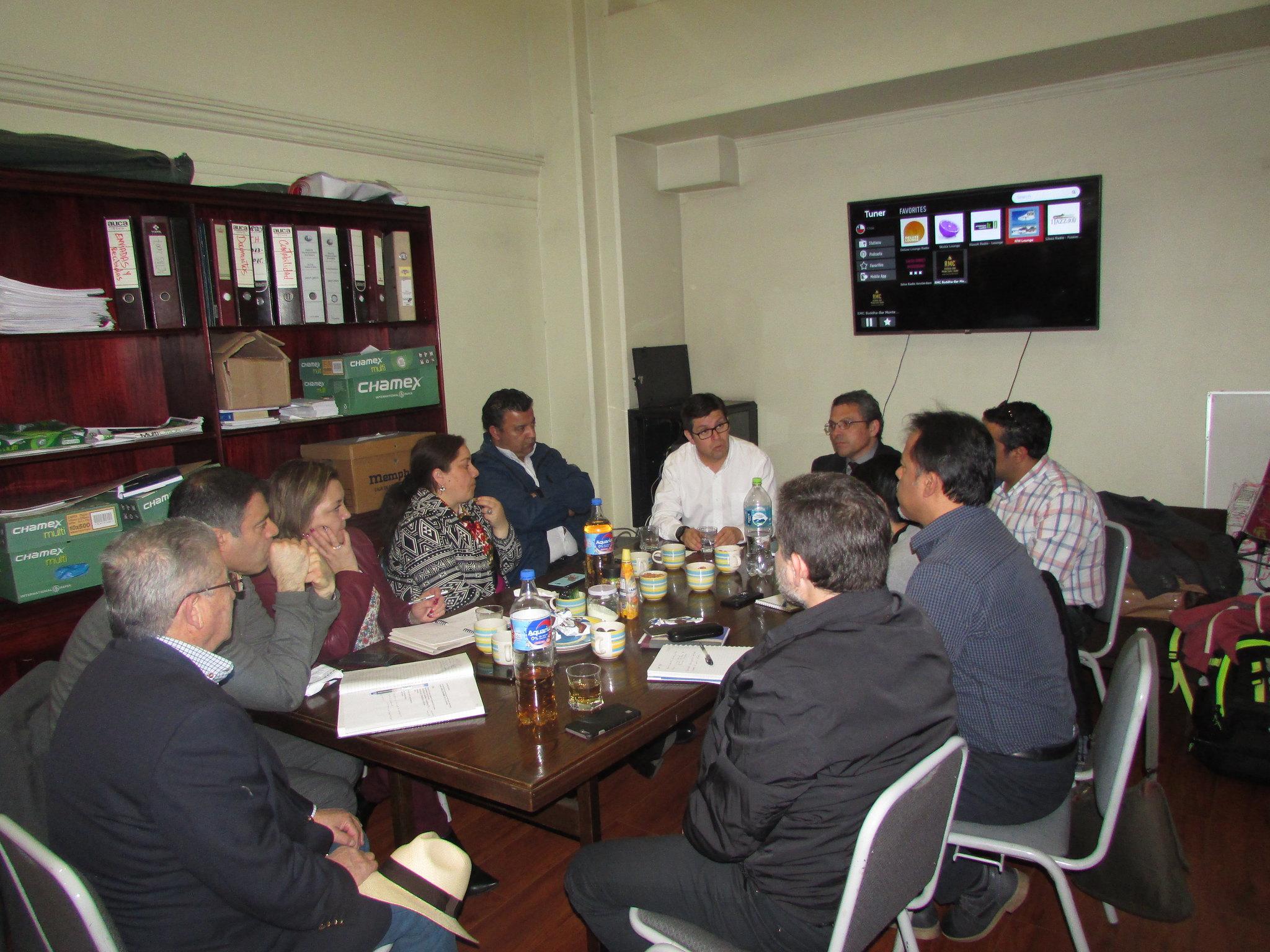 Dirigentes de la SCJ se reúnen el FTH por temas relevantes en la agenda gremial – 03 Sept. 2018