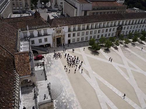 Universidade de #Coimbra. Vista desde los 34 metros de altura de la torre del siglo XVIII. #igerscoimbra #igersportugal #portugal #universidadedecoimbra #loveportugal #olympus #olympusomd