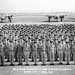 108th Bombardment Squadron during the Korean War activation formation 1951 (U.S. Air Force photo)