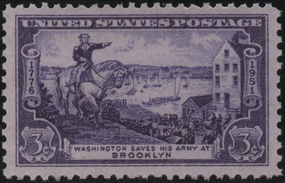 United States - Scott #1003 (1951)