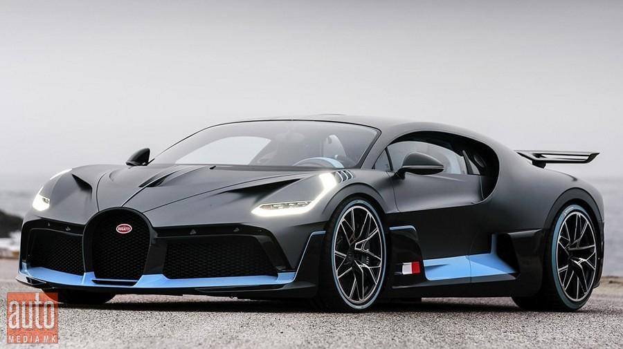 Bugatti Divo premiera 1
