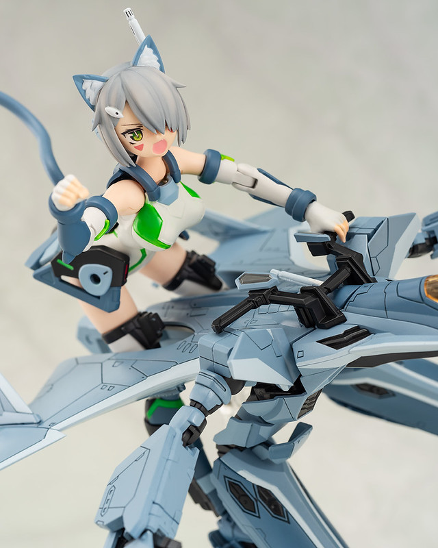 超可愛的貓娘少女!ACKS V.F.G. 《超時空要塞Δ》VF-31A 凱羅斯(カイロス )組裝模型