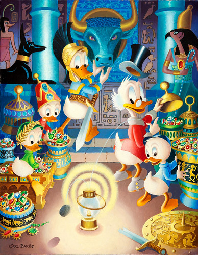 The Stone That Turns All Metals Gold by Carl Barks