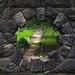 Stone bridge 'keyhole'
