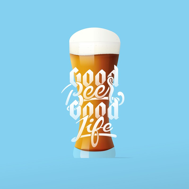 good-life-beer-sign