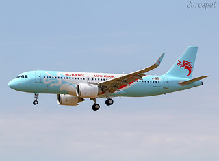 F-WWIO Airbus A320 Neo Loongair
