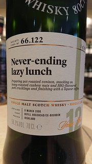 SMWS 66.122 - Never-ending lazy lunch
