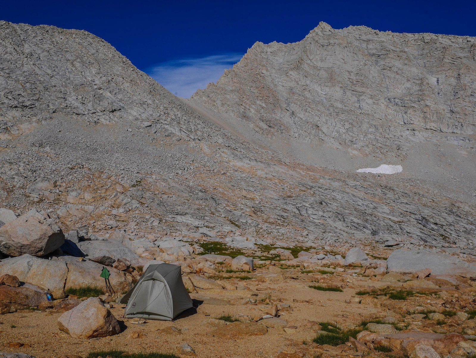 Camp 4 at 12,200ft just south of Forester Pass