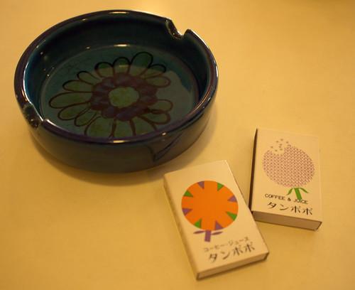 住吉・喫茶タンポポ_マッチ