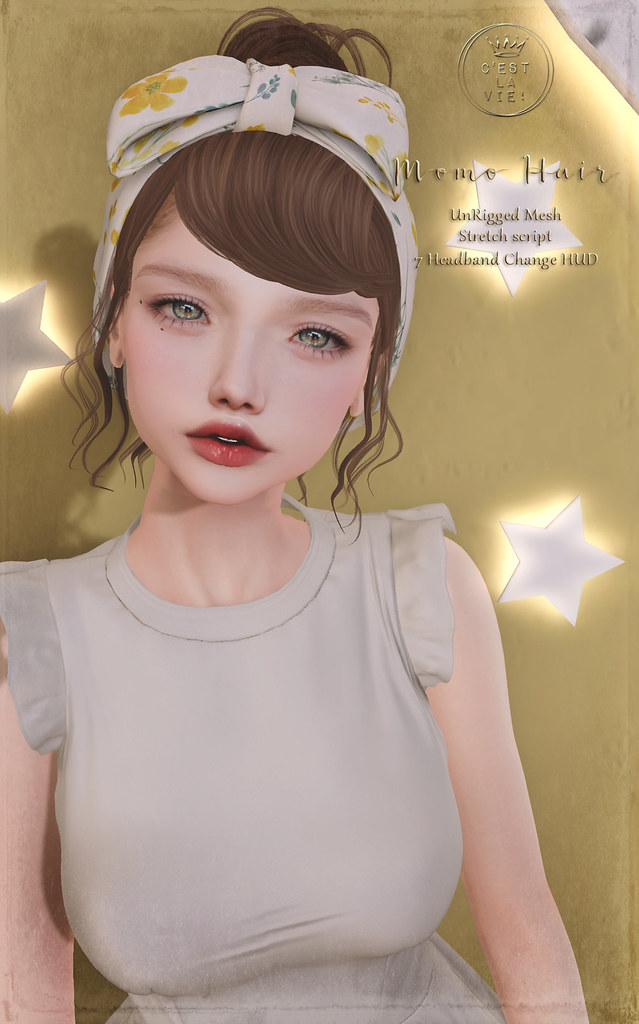 ::C'est la vie !:: Momo Hair for Fifty Linden Fridays💗