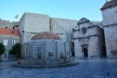Židovska fontana (Dubrovnik, Hrvatska 2018)