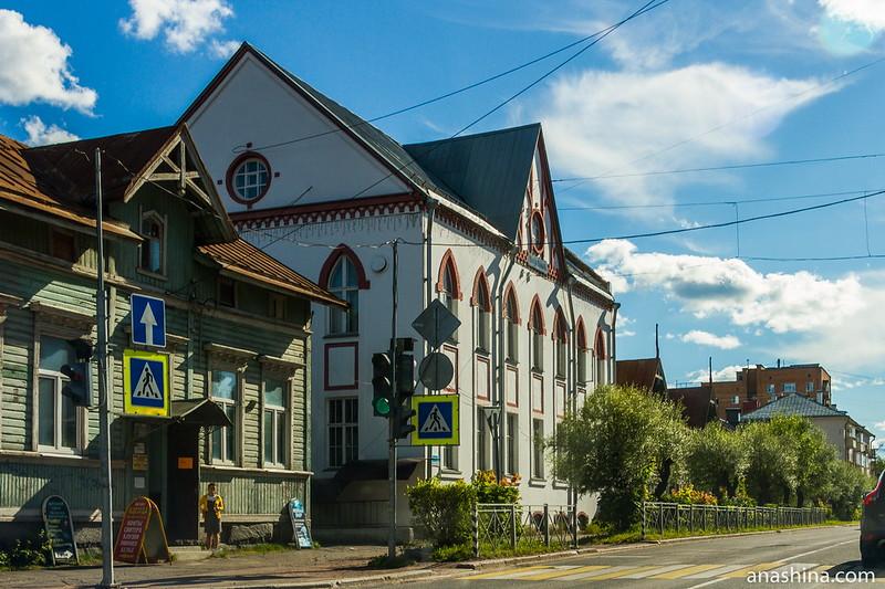 Здание Типографии и издательства духовной литературы, Сортавала