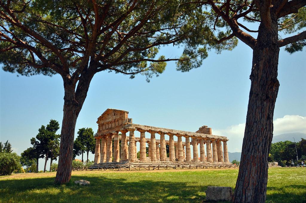 Temple at Paestum, Italy