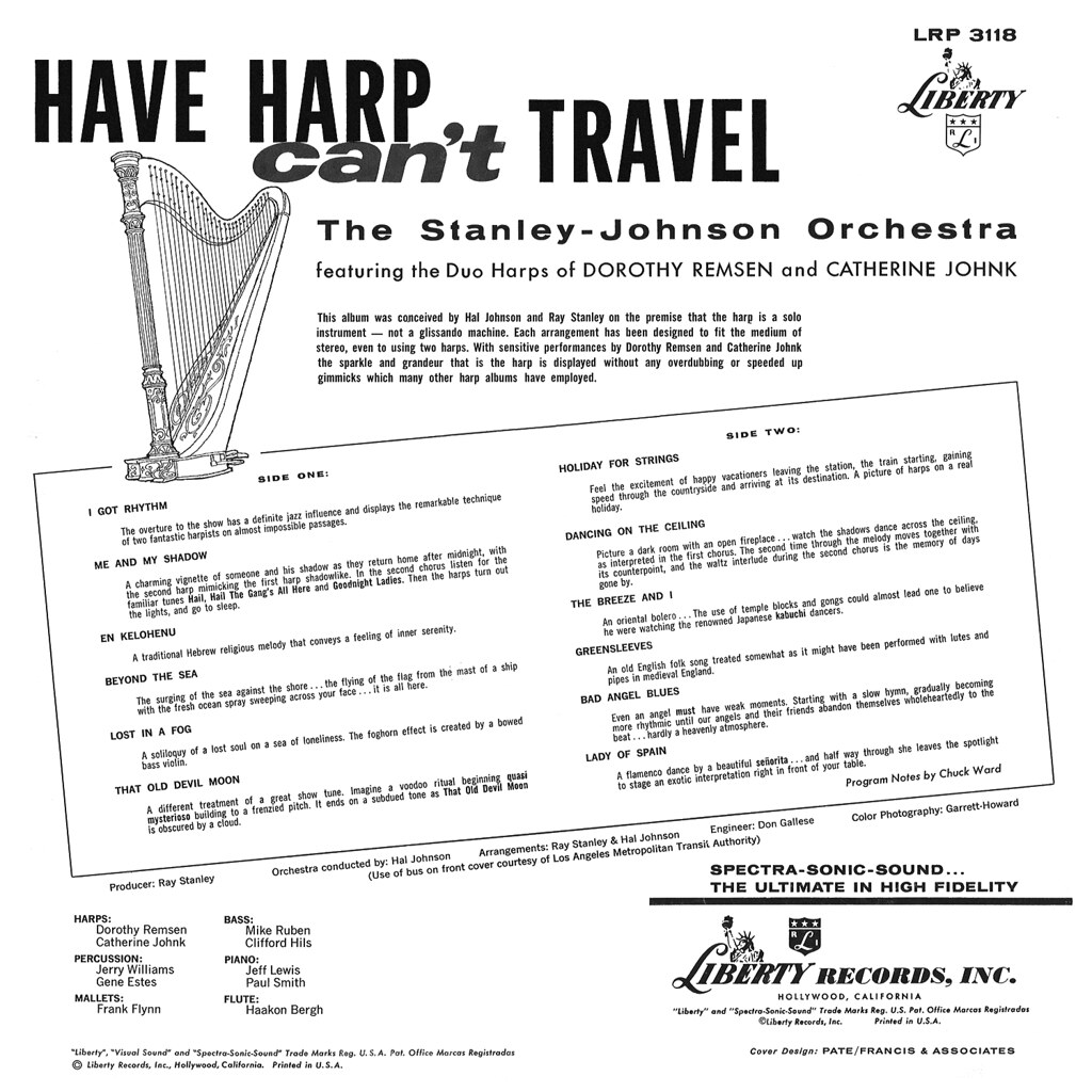 Stanley Johnson - Have Harp Can't Travel