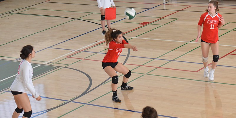 Convent JV Volleyball vs. Drew, Sept. 17, 2018