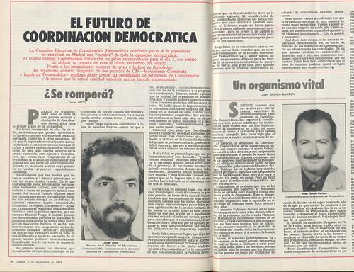 ¿Se romperá Coordinación Democrática? Javier Ortiz