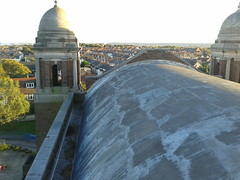 St Peter, Paul, Philomena, New Brighton  Original main barrel roof with cracking before Project