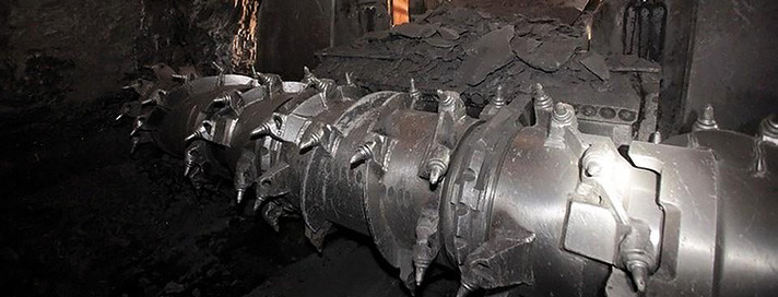 добыча руды в шахте