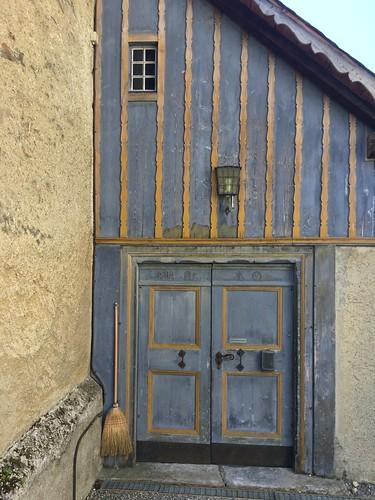 St Antönien, Kirchentür