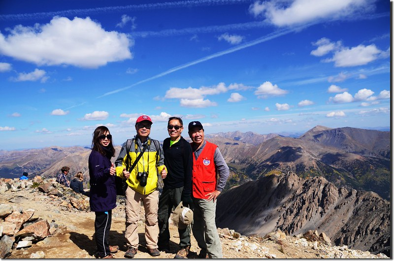 We are on the summit of La Plata Peak (1)