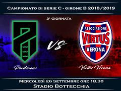 Pordenone - Virtus Verona 1-0