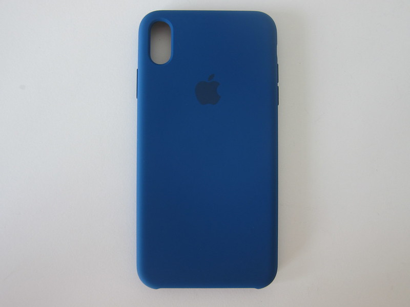 Apple iPhone XS Max Silicone Case - Back