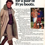Thu, 2018-09-20 07:35 - 1978 Frye Boots Advertising Playboy December 1978