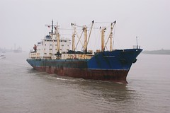 Russian freighter