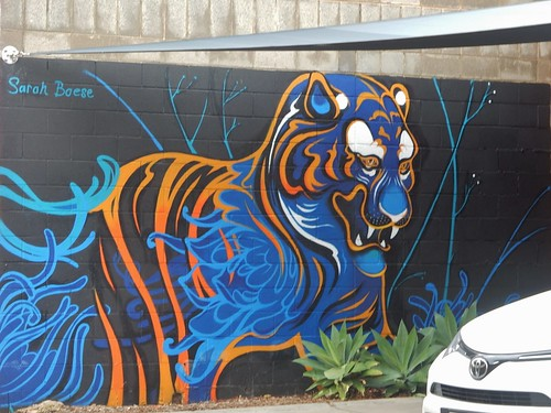 A Tiger by Sarah Boese
